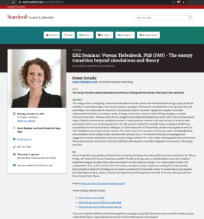 "Towards entry ""Verena Tiefenbeck gives virtual talk at Stanford University"""
